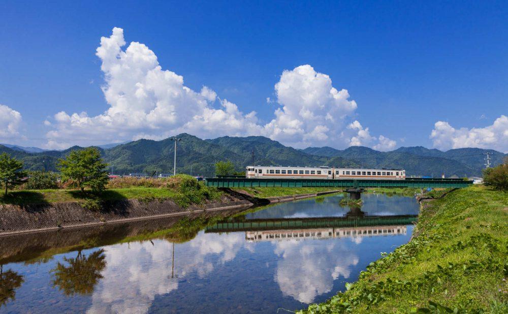 飛騨高山と汽車
