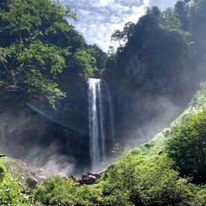 平湯大滝全景