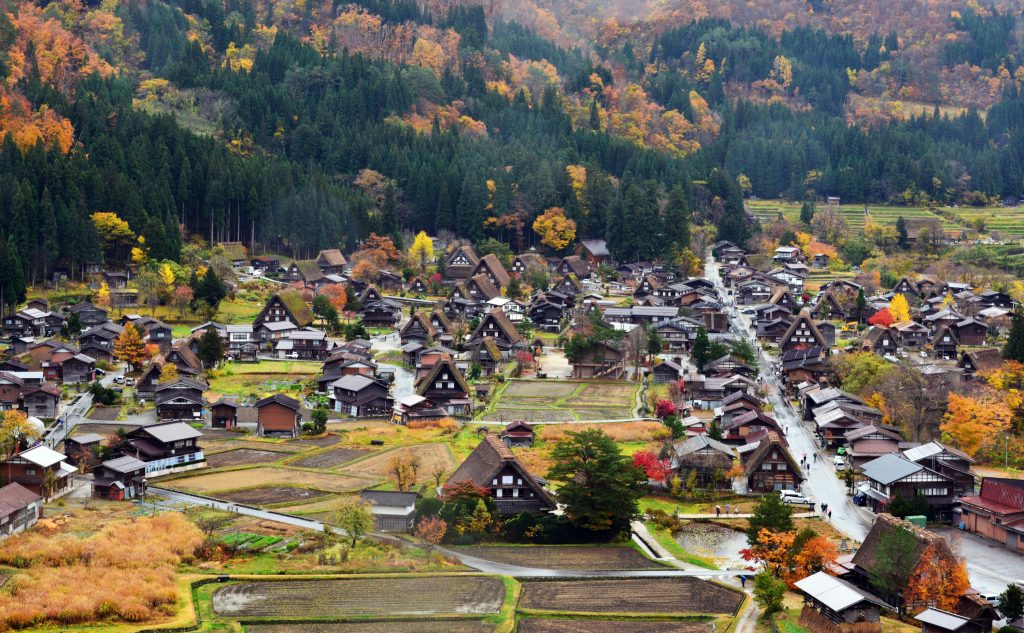 Shirakawa-go autumn