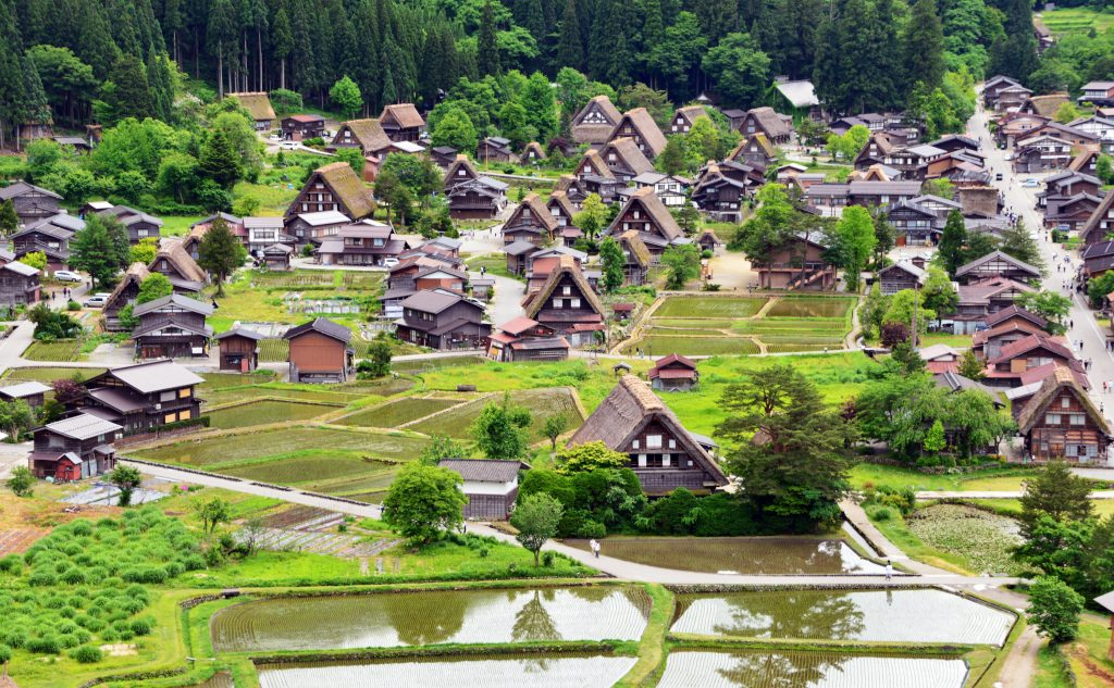 Shirakawa-go spring