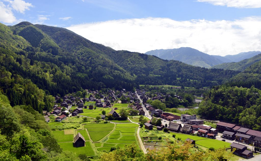 Shirakawa-go summer